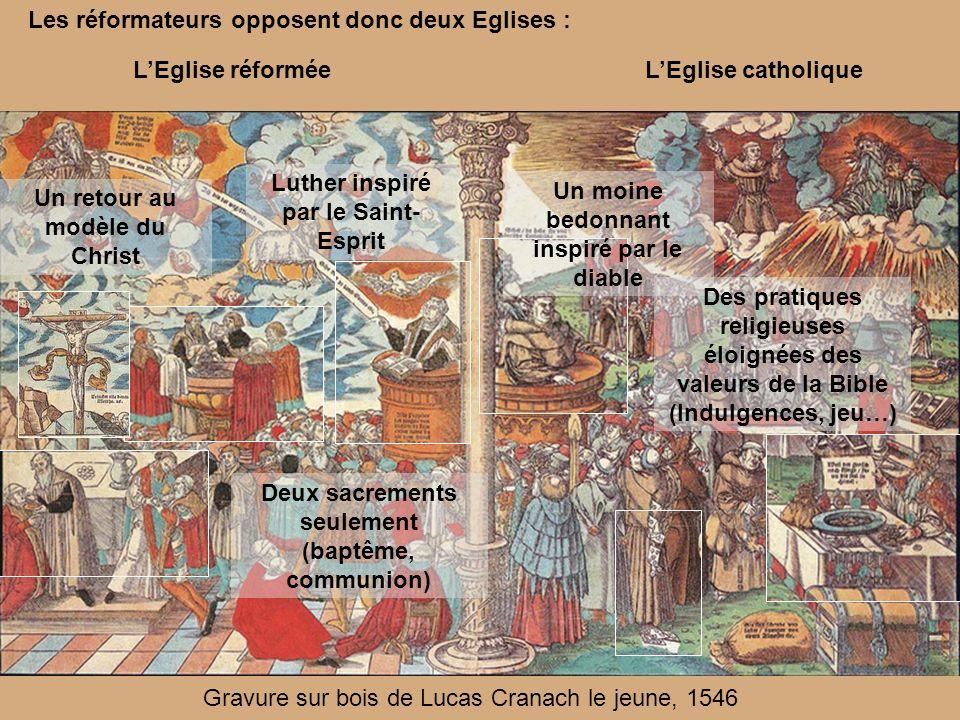 Les réformateurs opposent donc deux Eglises :