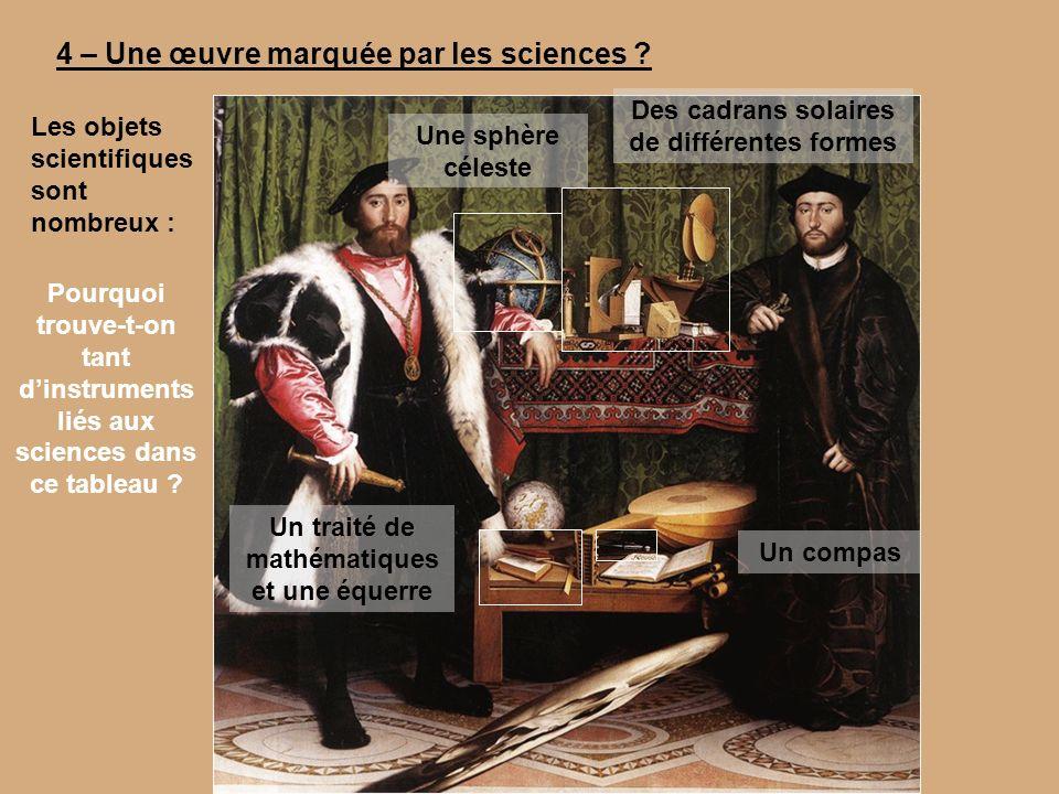 4 – Une œuvre marquée par les sciences