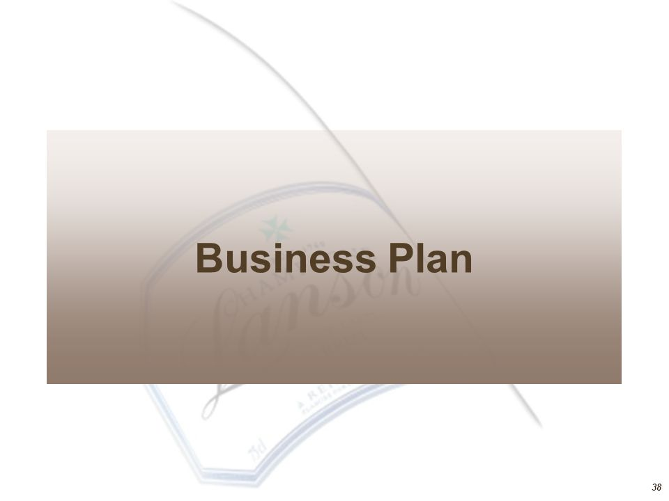 Business Plan 38