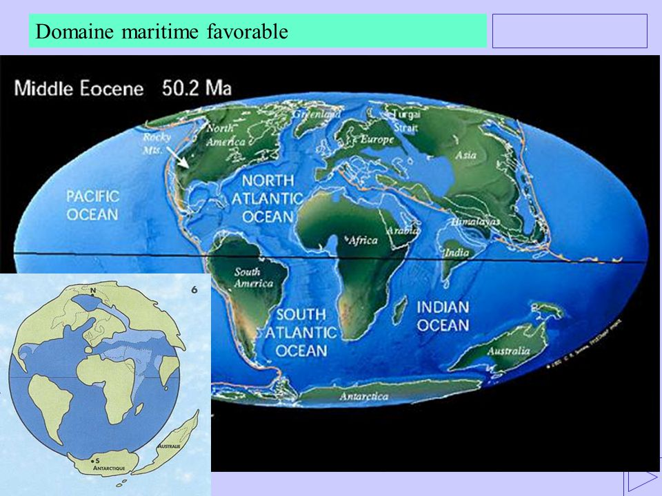 Domaine maritime favorable