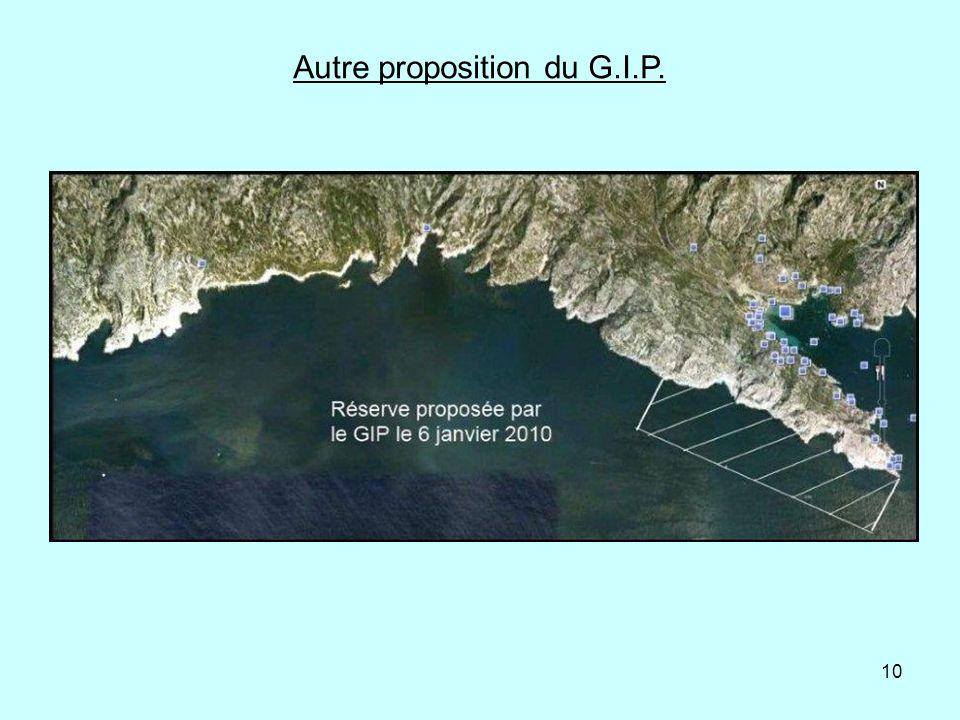 Autre proposition du G.I.P.