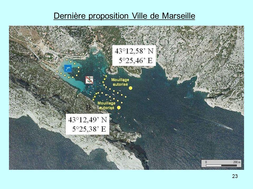 Dernière proposition Ville de Marseille