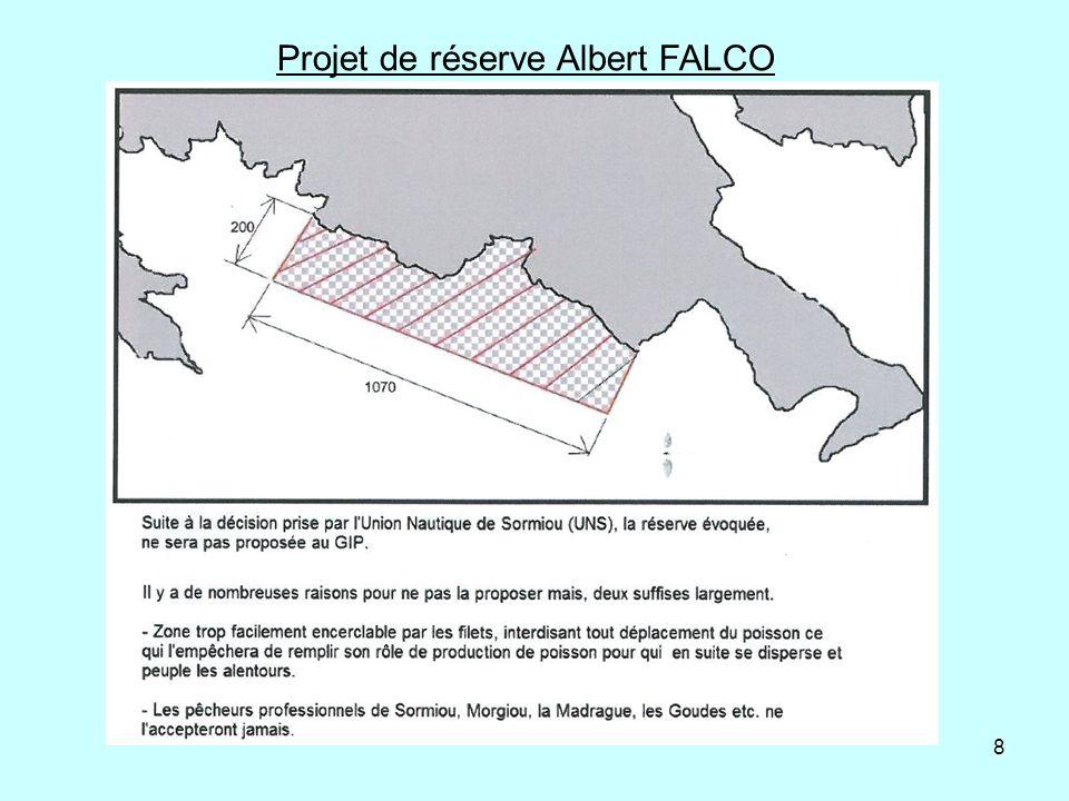 Projet de réserve Albert FALCO