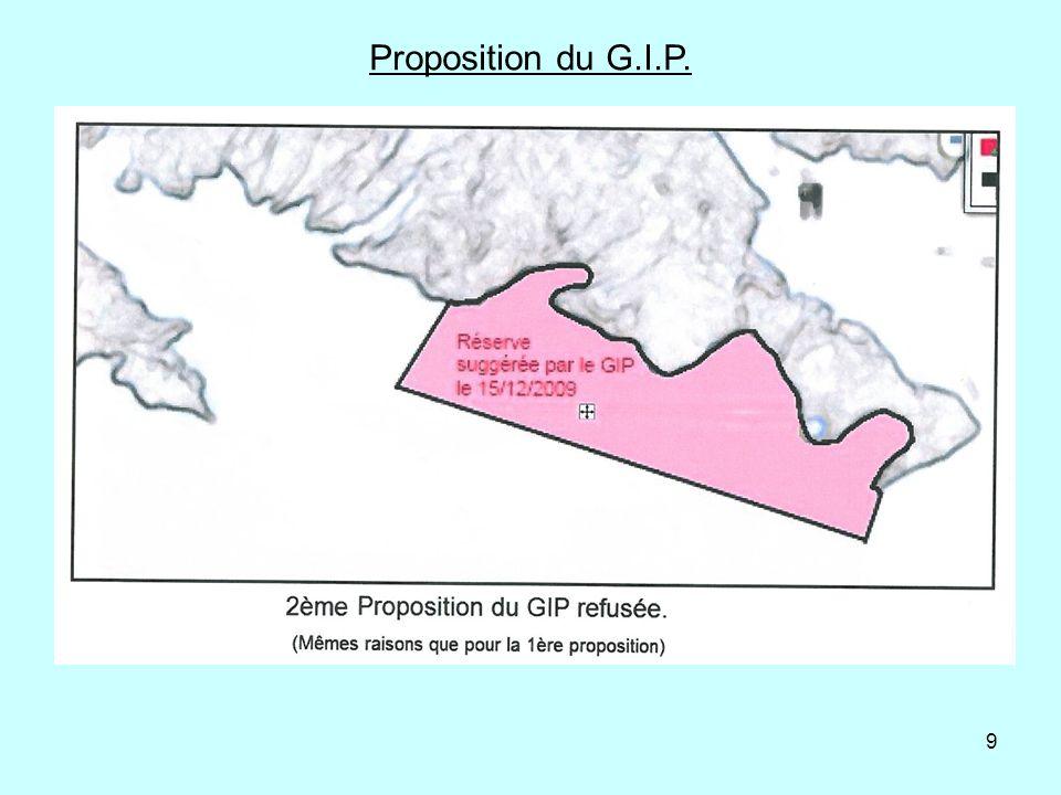 Proposition du G.I.P.