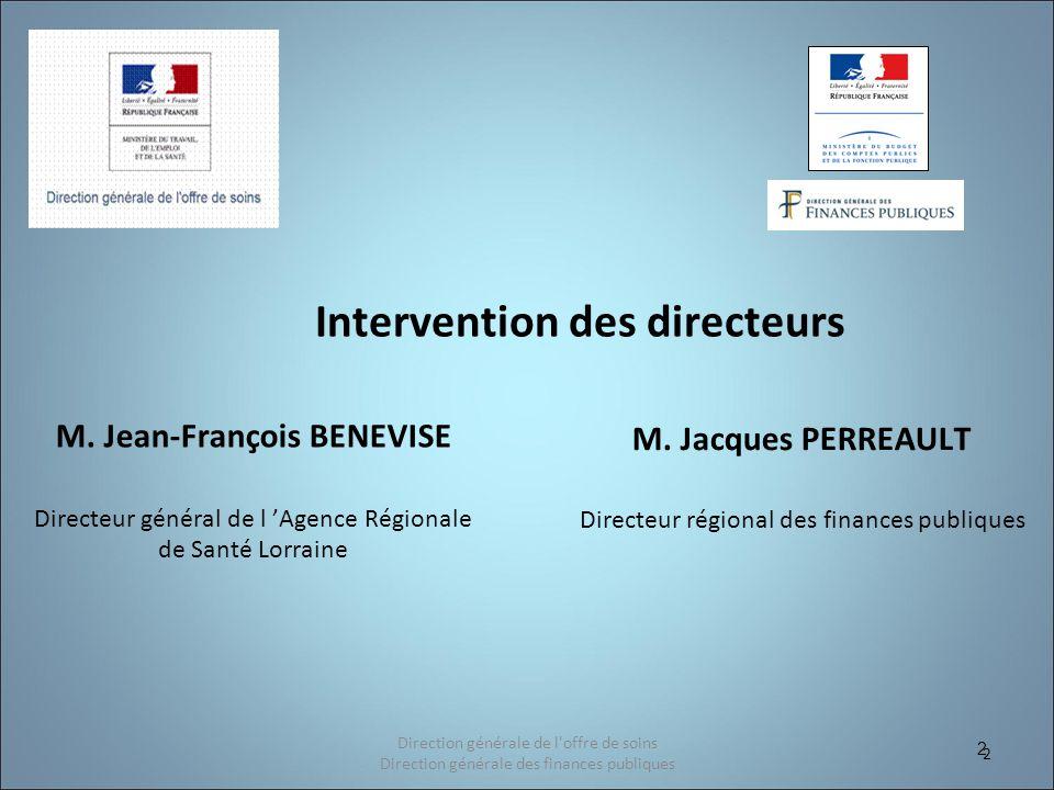 Intervention des directeurs