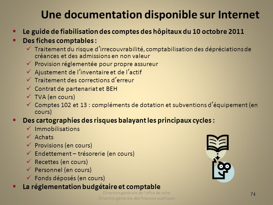 Une documentation disponible sur Internet