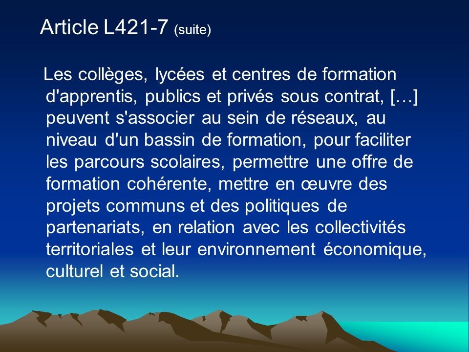 Article L421-7 (suite)