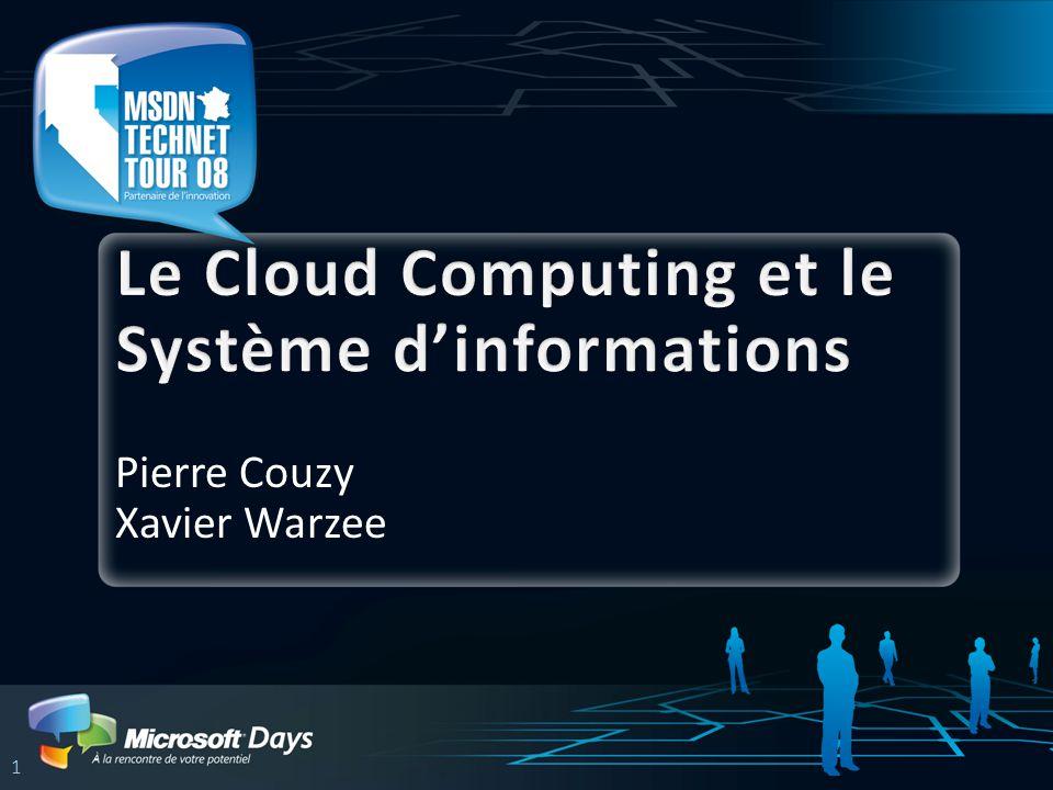 Le Cloud Computing et le Système d'informations