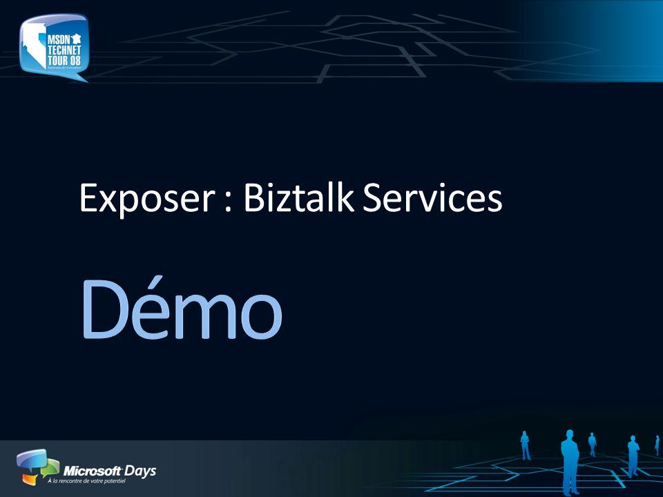 Exposer : Biztalk Services