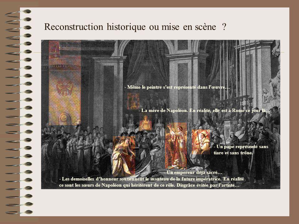 Reconstruction historique ou mise en scène
