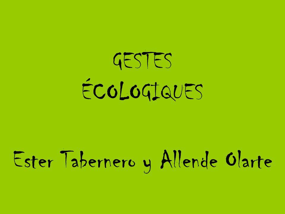 Ester Tabernero y Allende Olarte