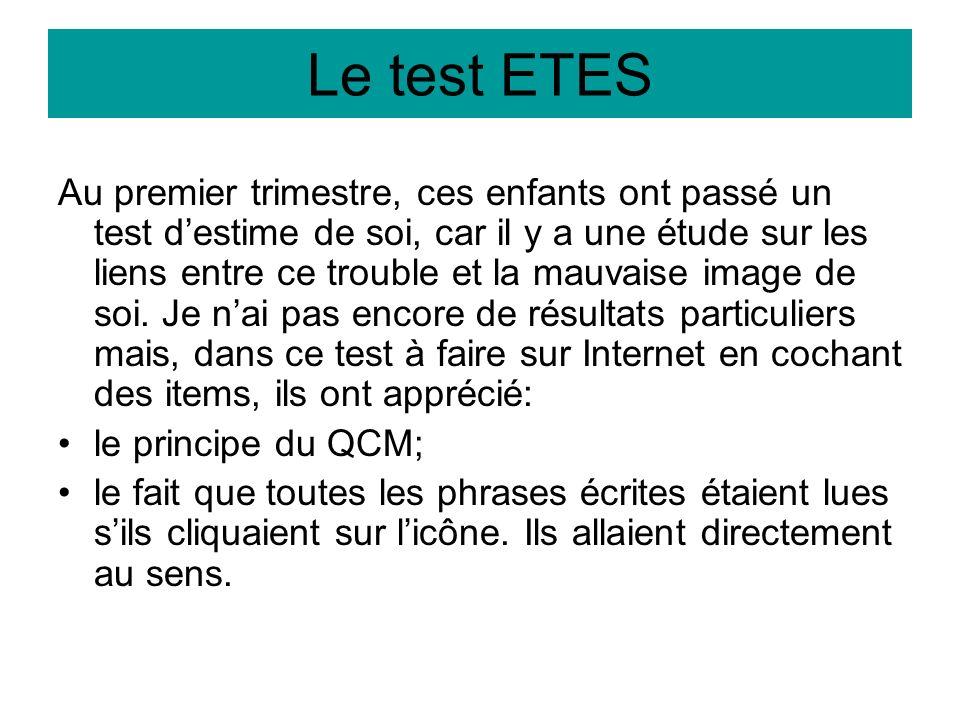 Le test ETES