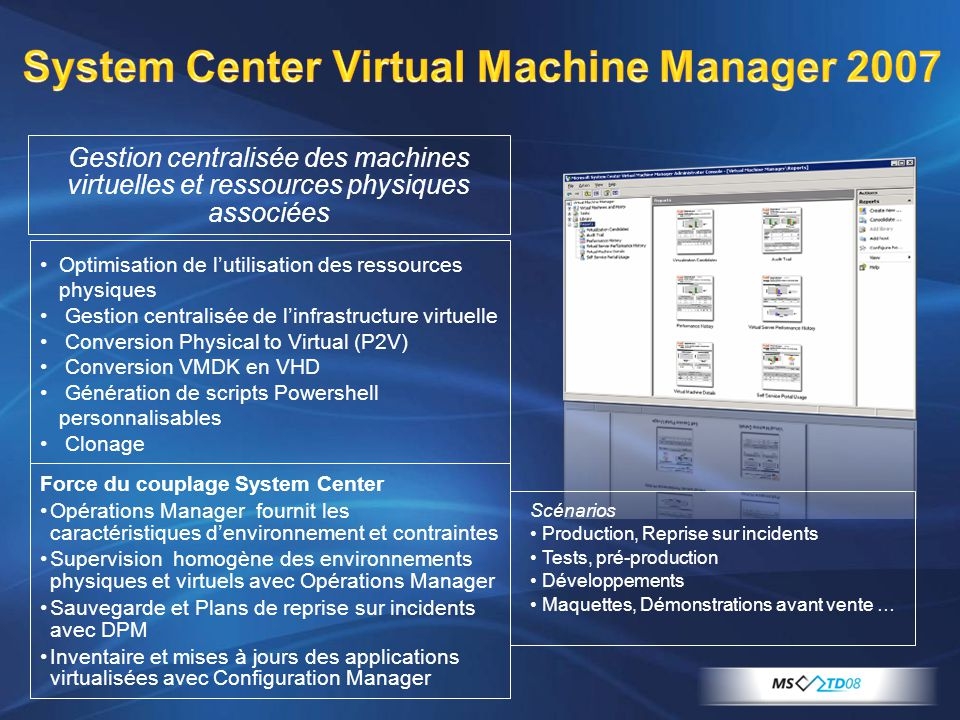 System Center Virtual Machine Manager 2007