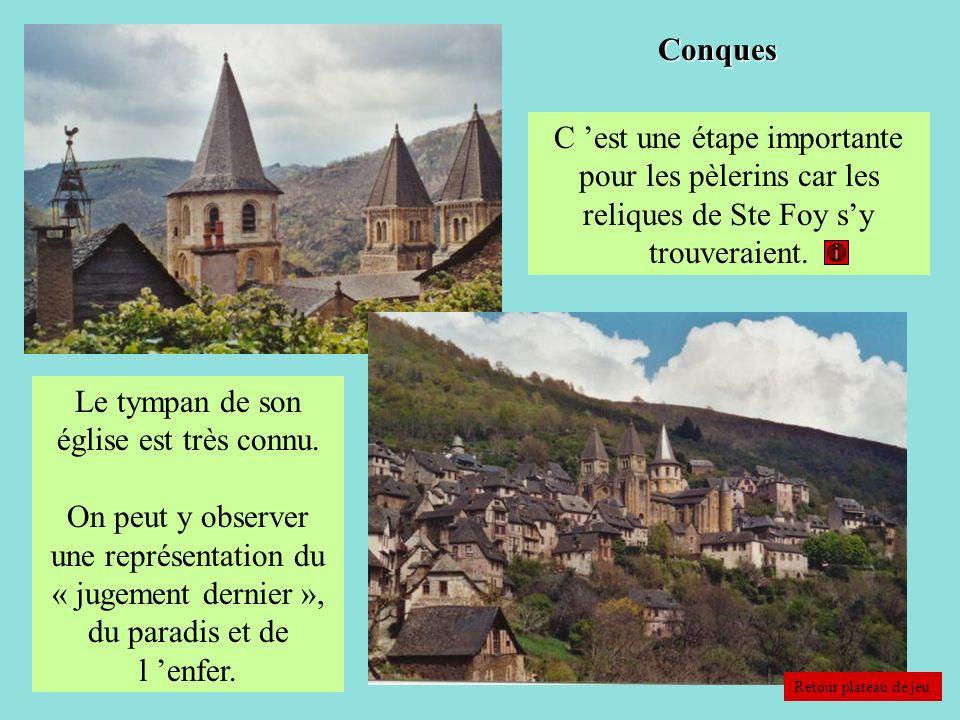 Le tympan de son église est très connu.