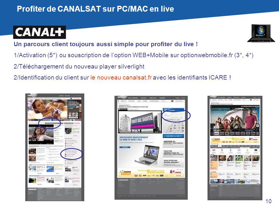 Profiter de CANALSAT sur PC/MAC en live