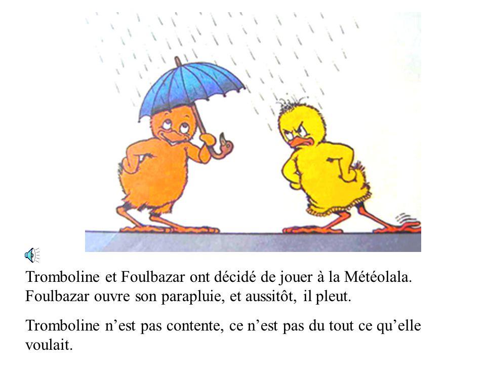 Tromboline et Foulbazar ont décidé de jouer à la Météolala