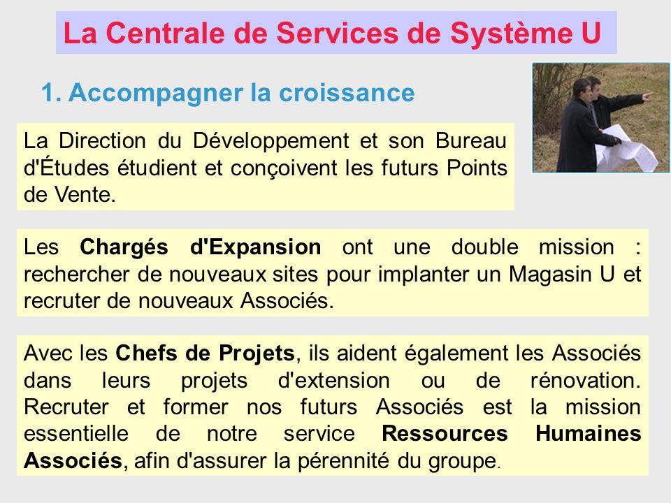 La Centrale de Services de Système U