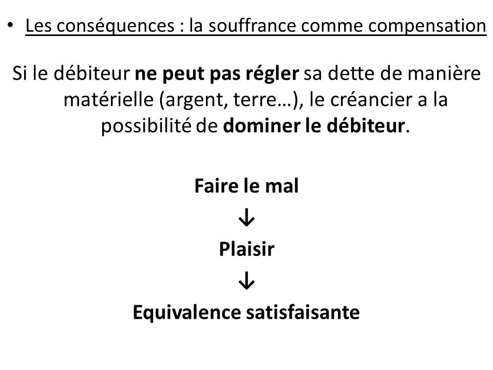 Equivalence satisfaisante