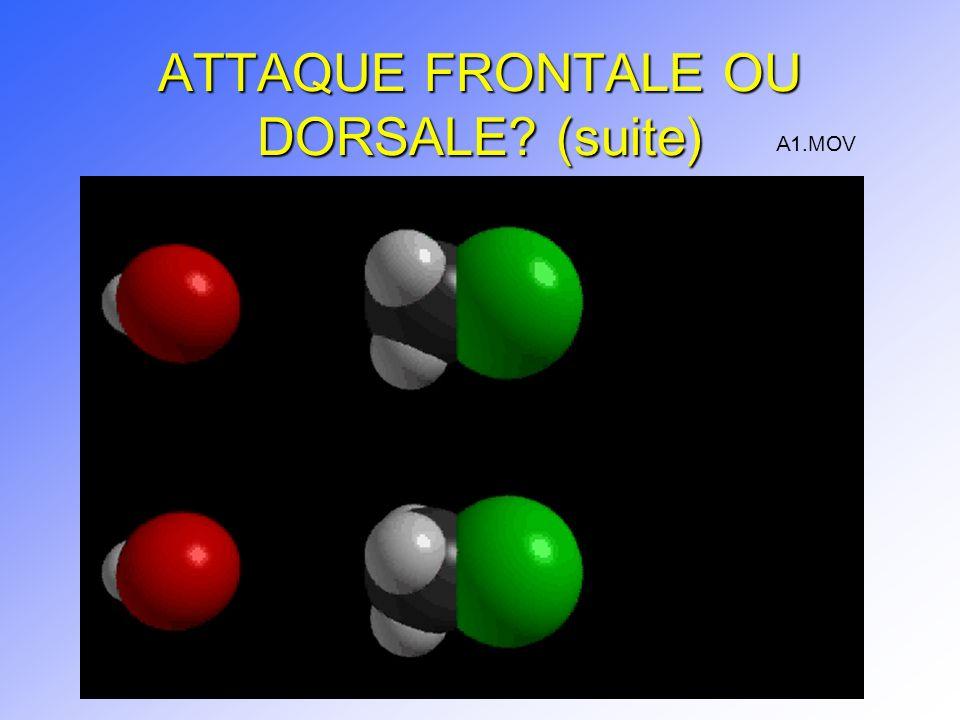 ATTAQUE FRONTALE OU DORSALE (suite)