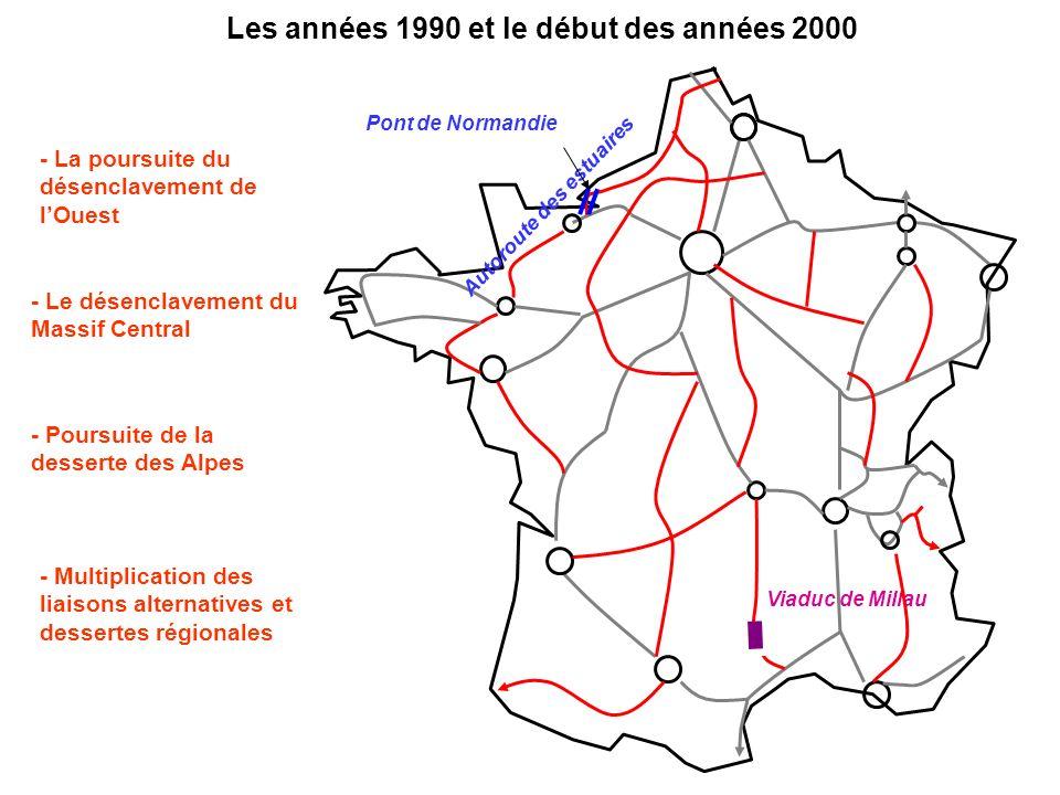 Les années 1990 et le début des années 2000 Autoroute des estuaires