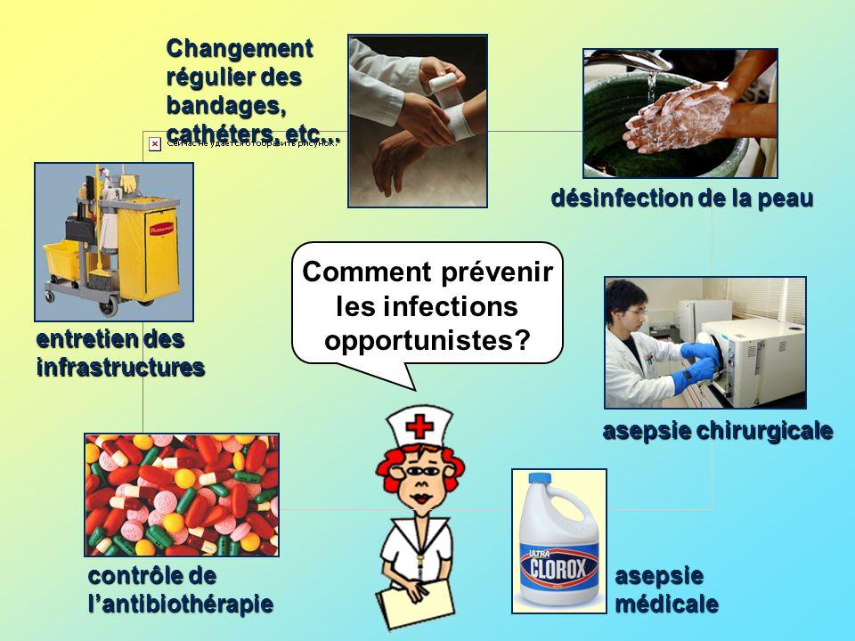 Comment prévenir les infections opportunistes