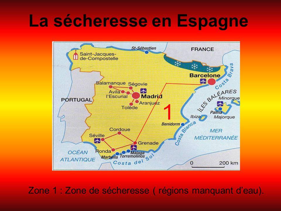 La sécheresse en Espagne