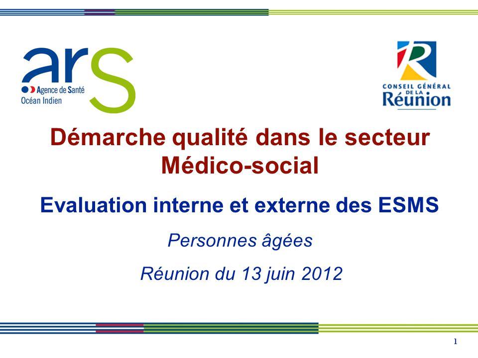 Démarche qualité dans le secteur Médico-social