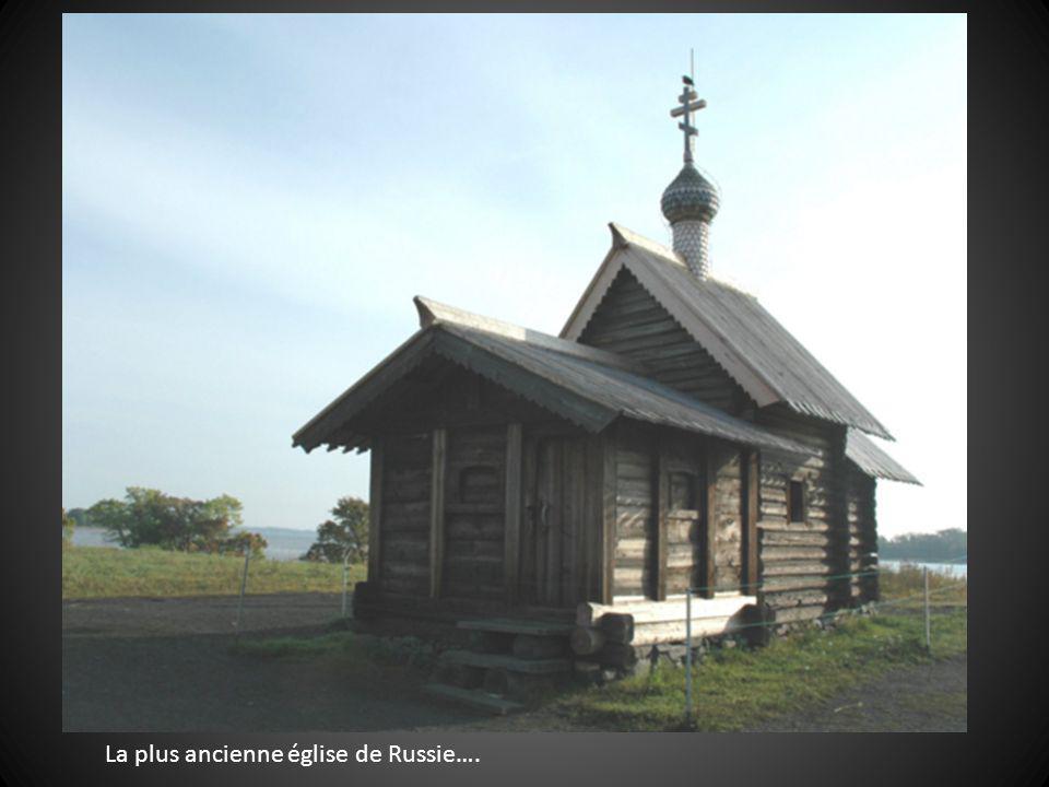 La plus ancienne église de Russie….