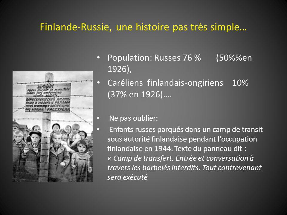 Finlande-Russie, une histoire pas très simple…