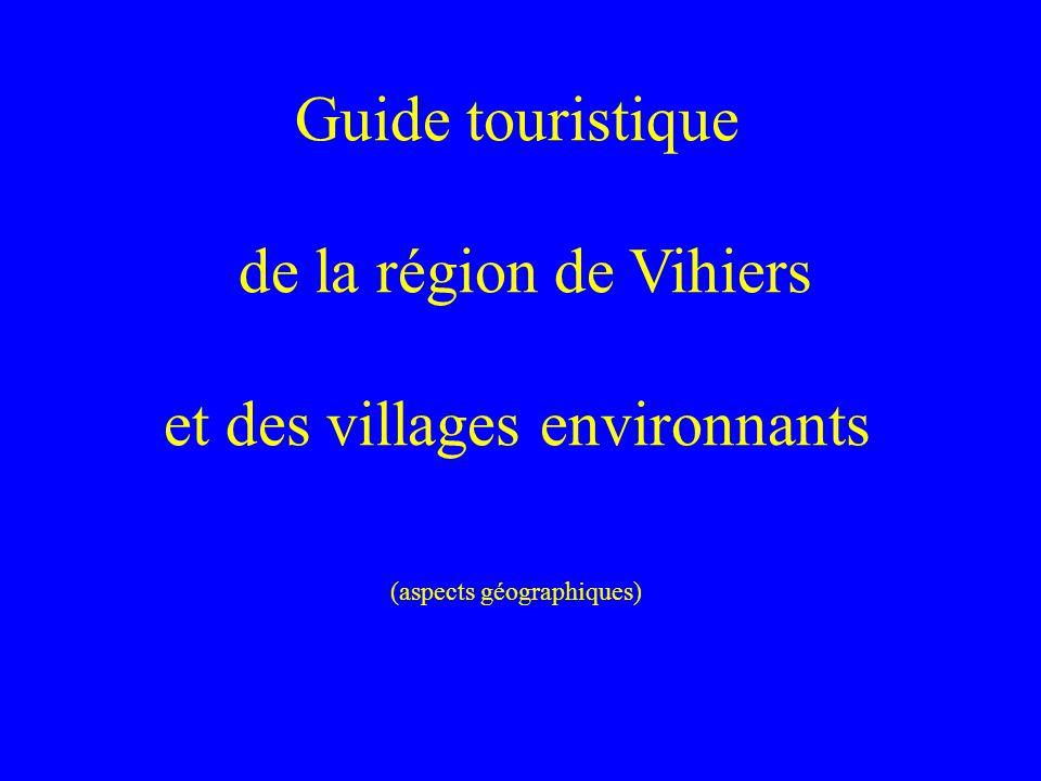 Guide touristique de la région de Vihiers et des villages environnants