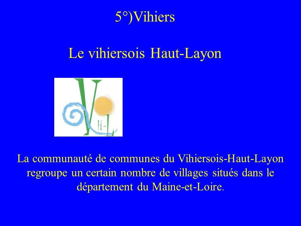 5°)Vihiers Le vihiersois Haut-Layon