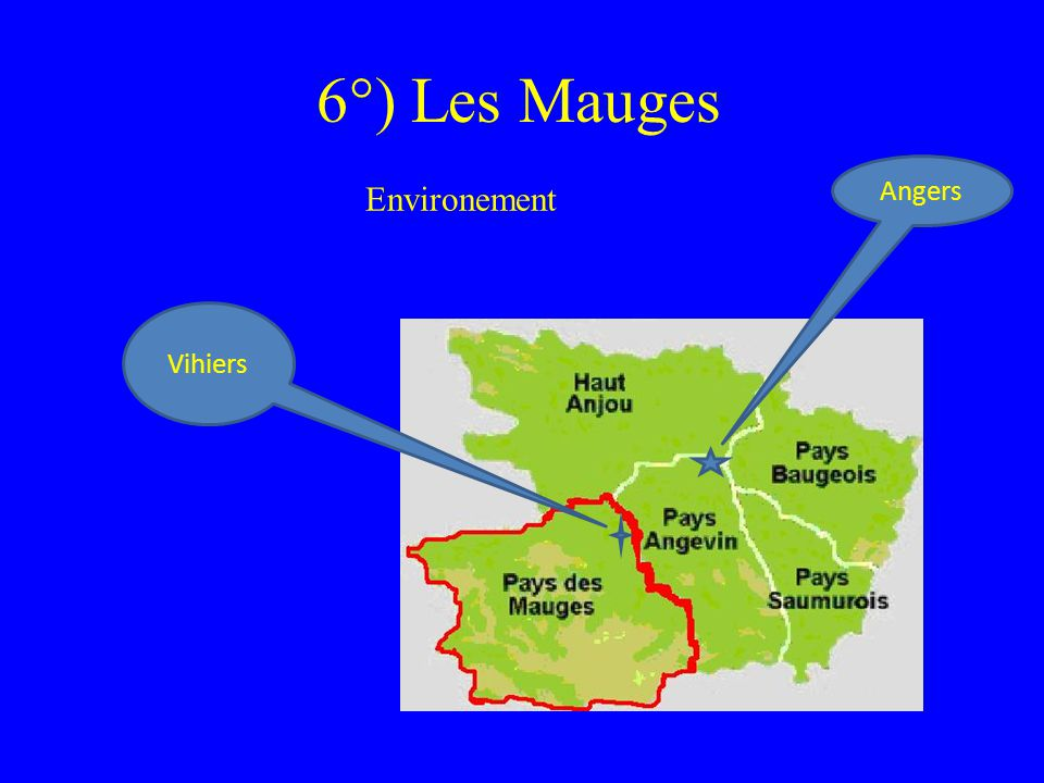 6°) Les Mauges Angers Environement Vihiers