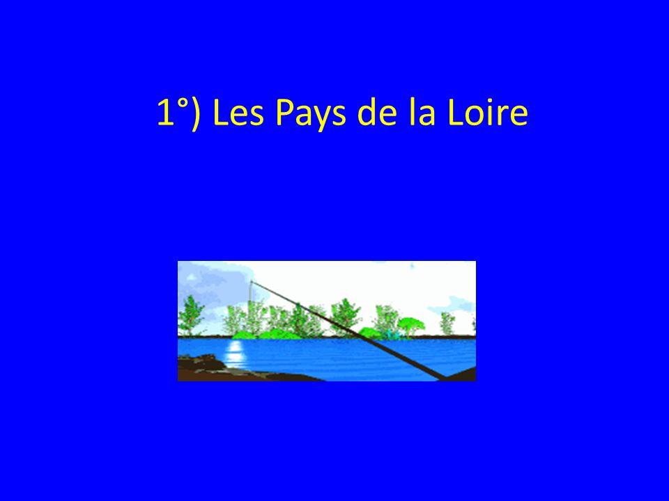 1°) Les Pays de la Loire