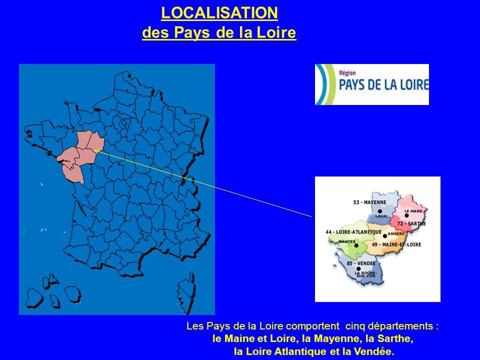 LOCALISATION des Pays de la Loire