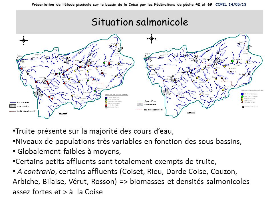 Situation salmonicole