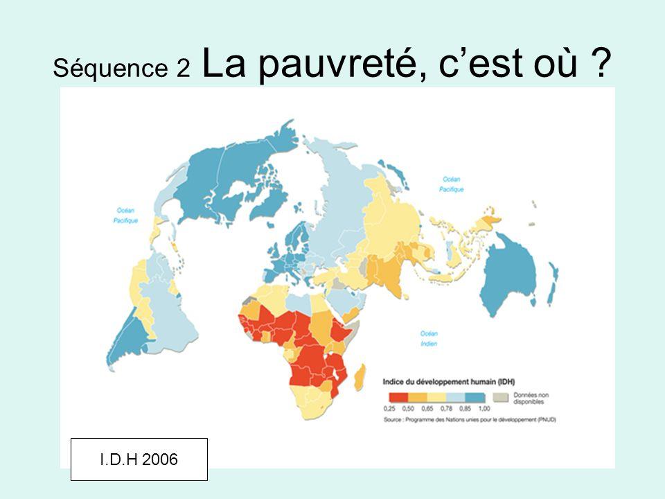 Séquence 2 La pauvreté, c'est où