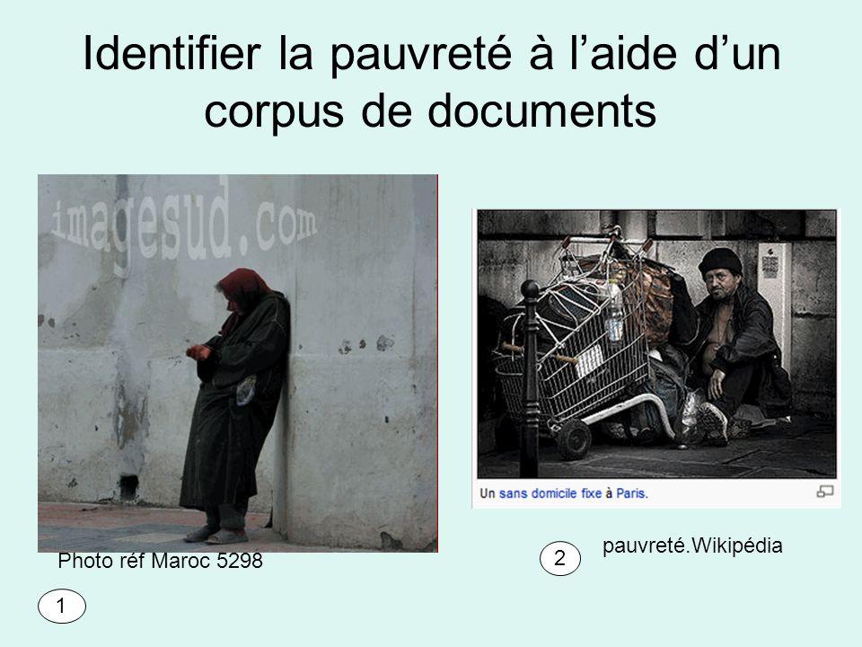 Identifier la pauvreté à l'aide d'un corpus de documents