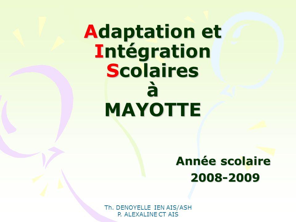 Adaptation et Intégration Scolaires à MAYOTTE