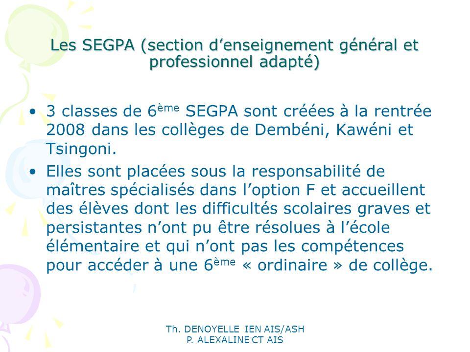 Les SEGPA (section d'enseignement général et professionnel adapté)