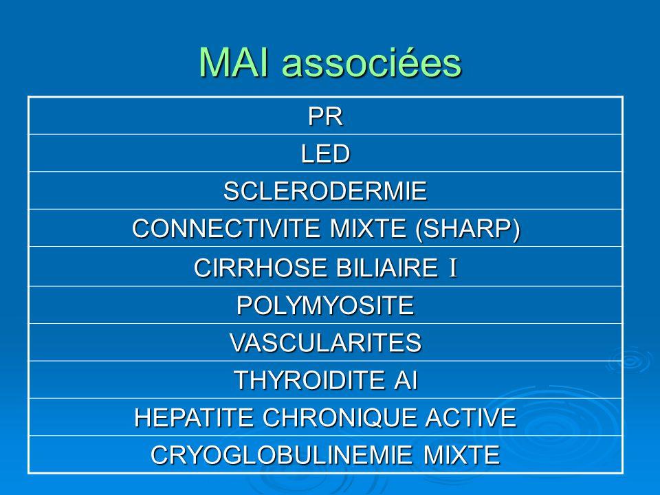 MAI associées PR LED SCLERODERMIE CONNECTIVITE MIXTE (SHARP)
