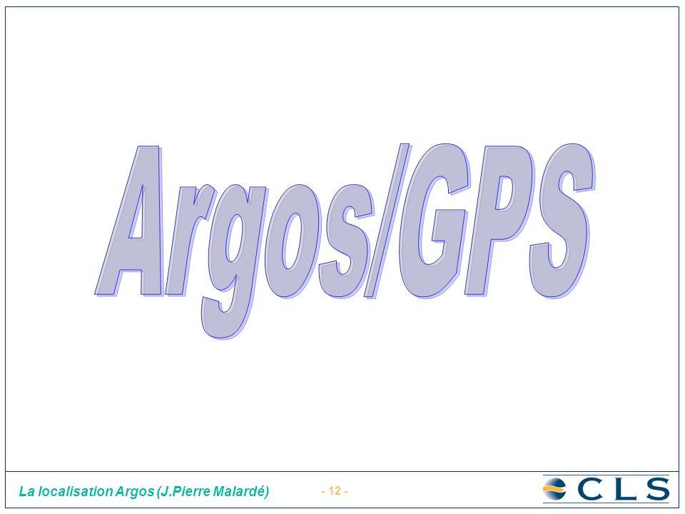 Argos/GPS
