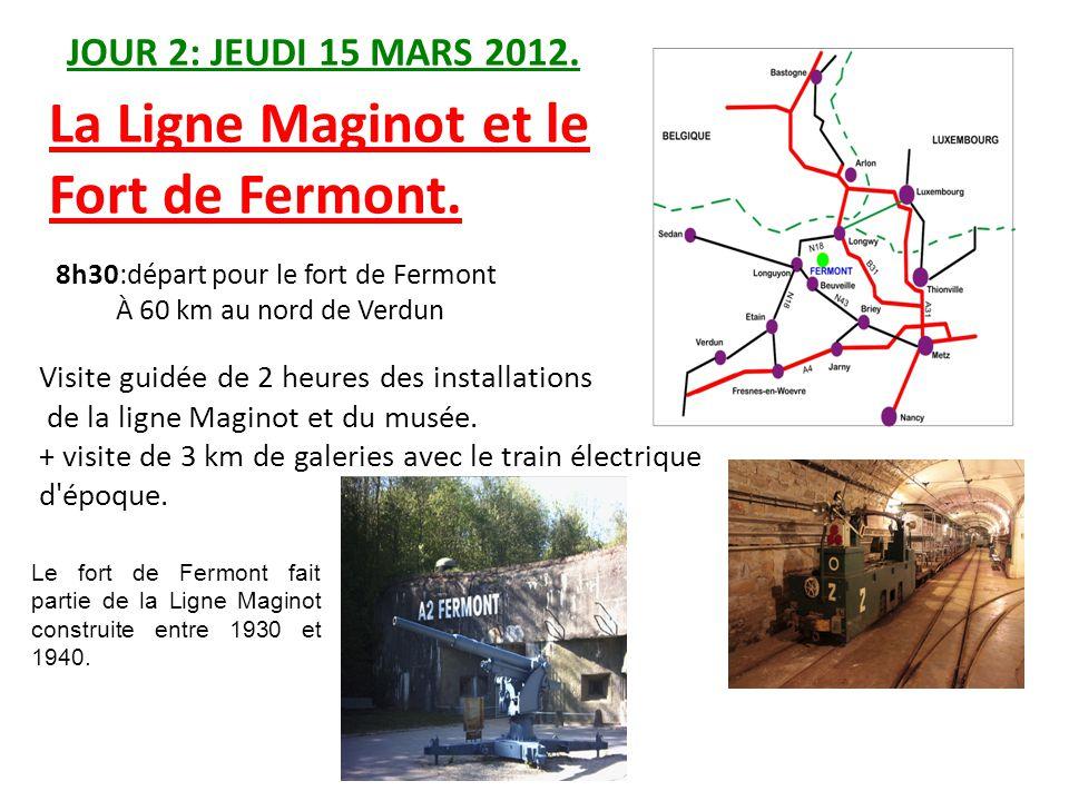La Ligne Maginot et le Fort de Fermont.