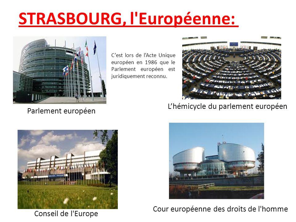 STRASBOURG, l Européenne: