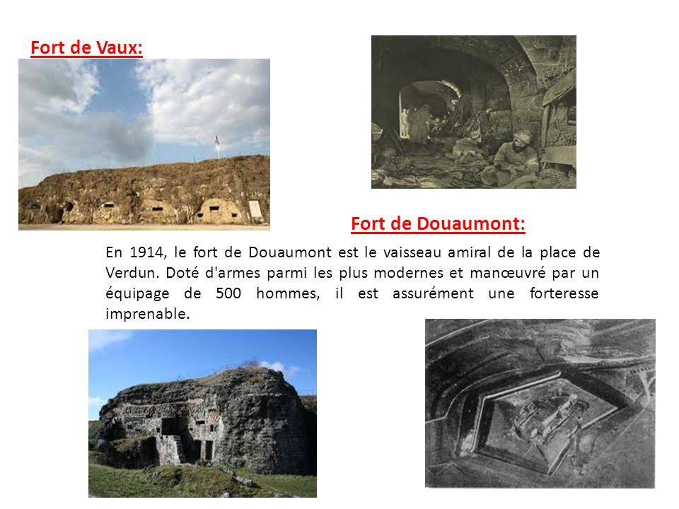 Fort de Vaux: Fort de Douaumont: