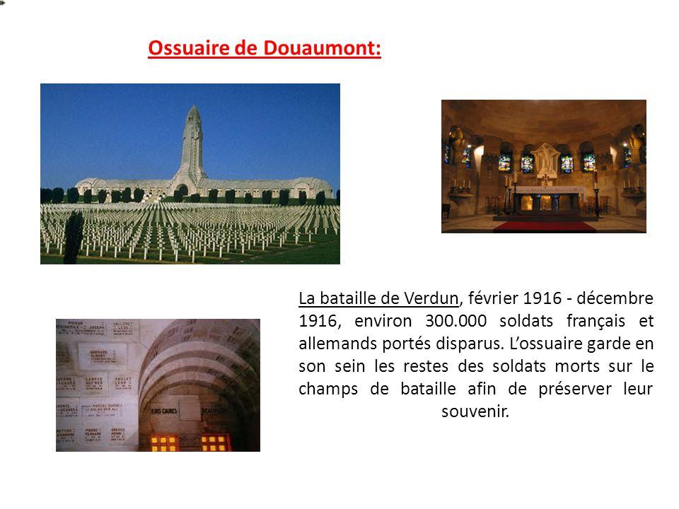 Ossuaire de Douaumont: