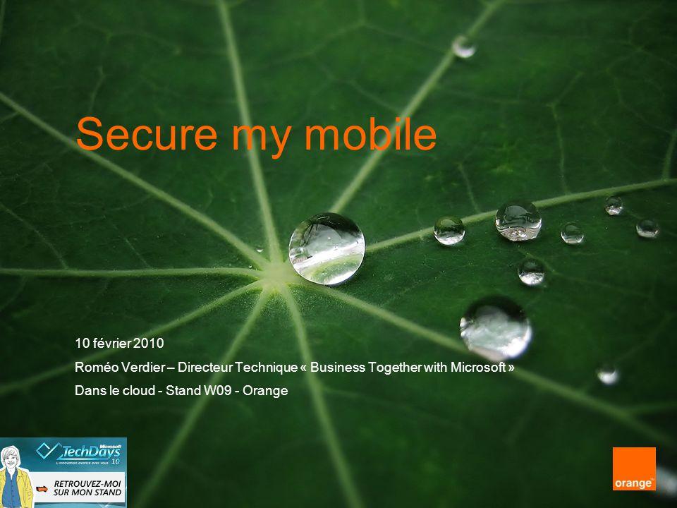 Secure my mobile 10 février 2010