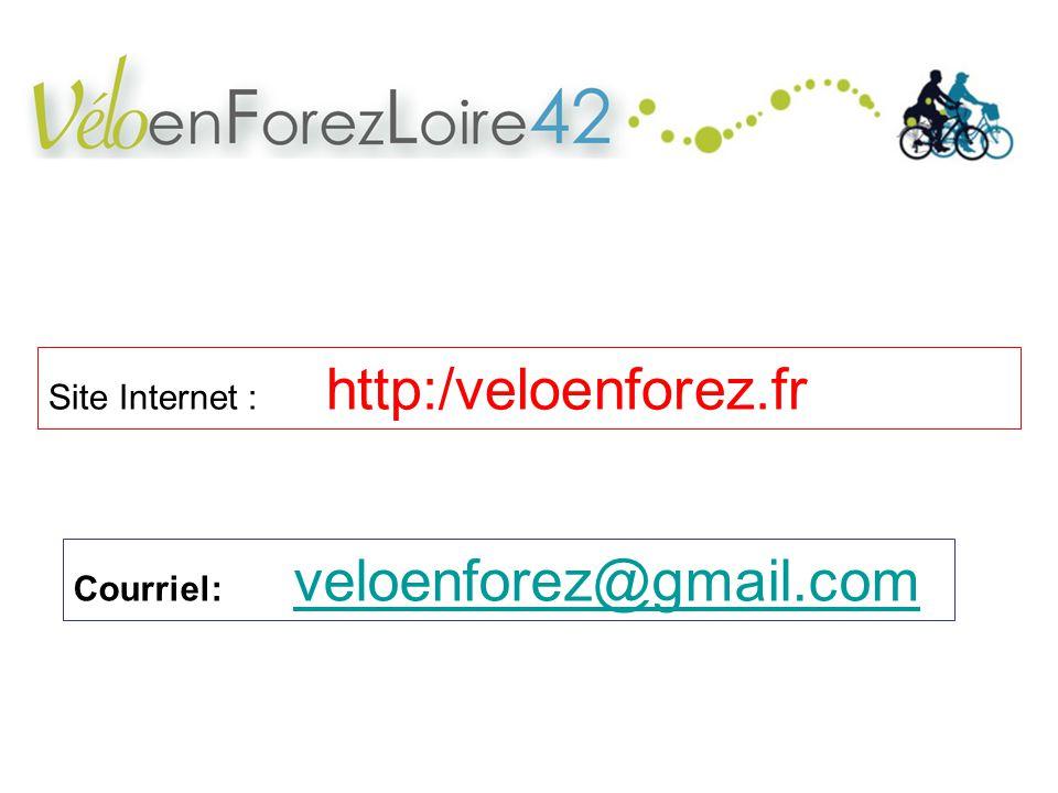 Site Internet : http:/veloenforez.fr