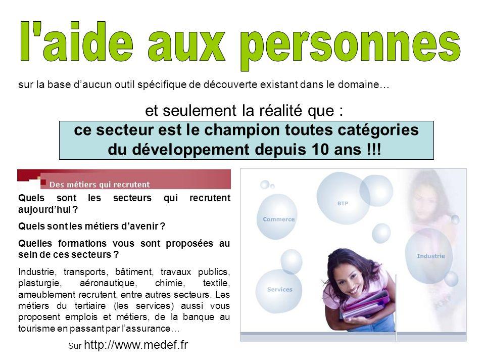 Sur http://www.medef.fr