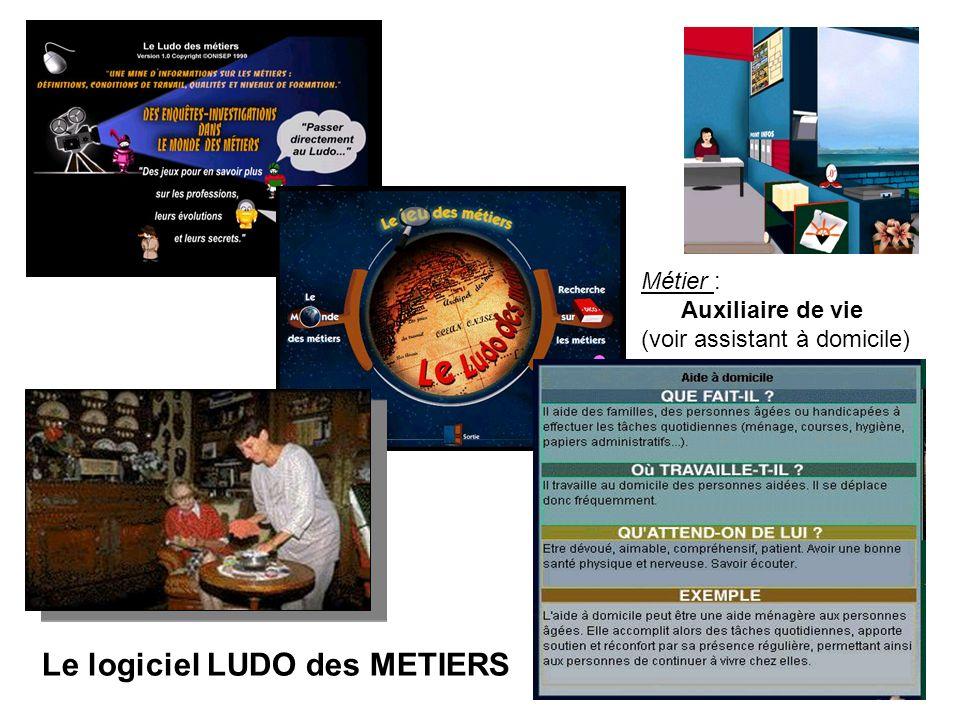 Le logiciel LUDO des METIERS