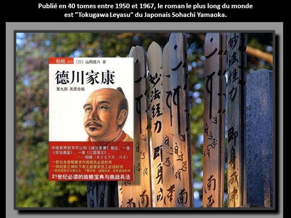 Publié en 40 tomes entre 1950 et 1967, le roman le plus long du monde
